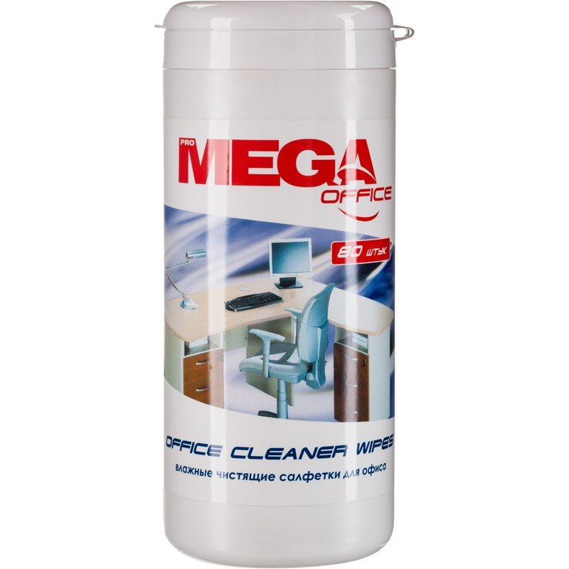 Салфетки ProMEGA Office Cleaner Wipes