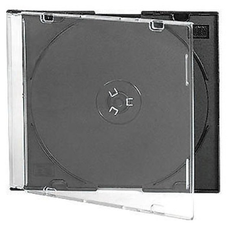 Бокс для CD/DVD дисков VS CD-box Slim/5